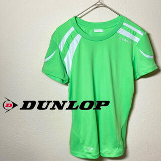 ダンロップ(DUNLOP)の☆美品☆ DUNLOP ダンロップ Tシャツ レディース Lサイズ(ウェア)
