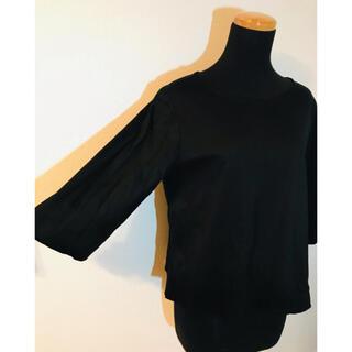 UNIQLO - UNIQLO トップス  七分袖 黒