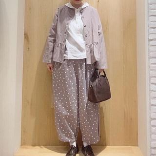 サマンサモスモス(SM2)のサマンサモスモス  裾タックパンツ(カジュアルパンツ)