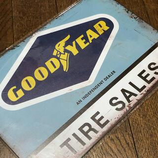Goodyear - GOODYEAR TIRE SALES ブリキ看板
