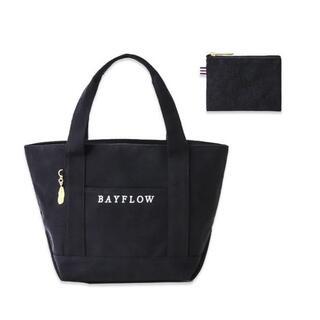 ベイフロー(BAYFLOW)のBAYFLOW☆ファスナーつきバッグ&ポーチ(トートバッグ)