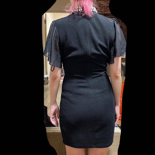 dazzy store(デイジーストア)のドレス キャバドレス s size  ブラック 黒 black パーティードレス レディースのフォーマル/ドレス(ミニドレス)の商品写真