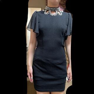 デイジーストア(dazzy store)のドレス キャバドレス s size  ブラック 黒 black パーティードレス(ミニドレス)
