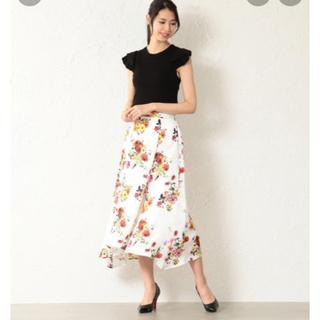 ラブレス(LOVELESS)の新品 LOVELESS nowartt 花柄 ワンピース ドレス(ロングワンピース/マキシワンピース)