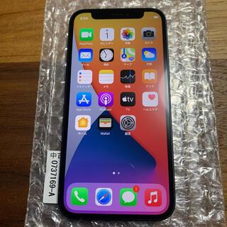 アイフォーン(iPhone)の【美品】iPhone12 mini 64GB ブラック SIMフリー(スマートフォン本体)