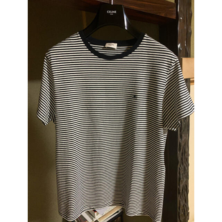 セリーヌ(celine)のセリーヌ ボーダー メンズのサイズL(Tシャツ/カットソー(半袖/袖なし))