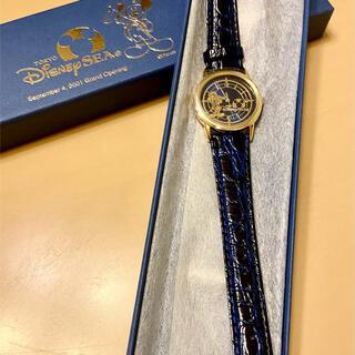 ディズニー(Disney)の新品未使用 東京ディズニーシー オープニング記念腕時計(腕時計(アナログ))