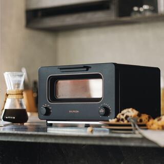 バルミューダ(BALMUDA)の5%オフ新品 バルミューダ スチームトースター ブラック K05A-BK(調理道具/製菓道具)