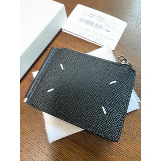 マルタンマルジェラ(Maison Martin Margiela)の新品 国内完売マルタンマルジェラ グレインレザー マネークリップ 二つ折り 財布(マネークリップ)