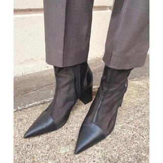 Ameri VINTAGE - Ameri VINTAGE   MESH PIPING BOOTS