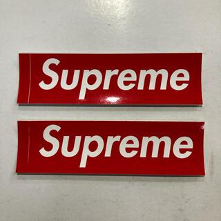 シュプリーム(Supreme)のSupreme BOX LOGO ステッカー 2枚セット(ステッカー)