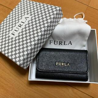 フルラ(Furla)のFURLA キーケース BLACK(キーケース)