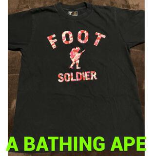 アベイシングエイプ(A BATHING APE)のA BATHING APE(Tシャツ(半袖/袖なし))