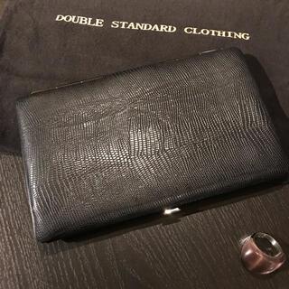 ダブルスタンダードクロージング(DOUBLE STANDARD CLOTHING)のダブルスタンダードクロージング 黒 服飾小物(その他)