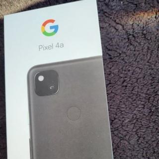 グーグル(Google)のGoogle pixel4a ブラック 128GB(スマートフォン本体)