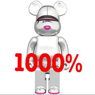 メディコムトイ(MEDICOM TOY)のBE@RBRICK SORAYAMA SILVER 2G 1000% ベアブリ(その他)