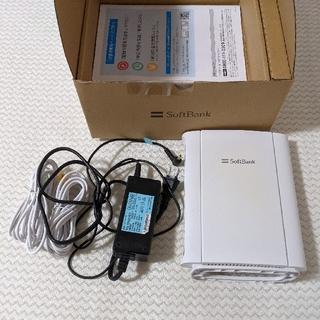 ソフトバンク(Softbank)のソフトバンク光BBユニット J18V150.00(PC周辺機器)