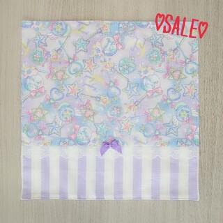 【SALE☆】♡ユニコーン ステッキ 紫 ランチマット♡(外出用品)