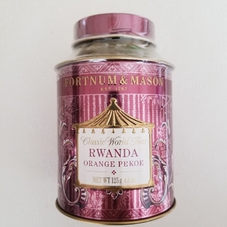 ルワンダオレンジペコー ルーズリーフ茶葉 紅茶 フォートナム&メイソン(茶)