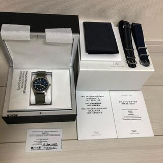 インターナショナルウォッチカンパニー(IWC)の美品 IWC パイロット マーク18トリビュートトゥマーク11(腕時計(アナログ))