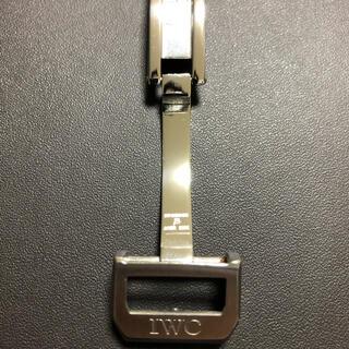 インターナショナルウォッチカンパニー(IWC)の【美品】IWC純正 バックル 尾錠幅18mm(その他)