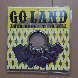 ゆず 「GO LAND」カラビナキーホルダー(ミュージシャン)