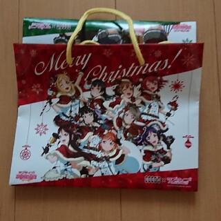 ラブライブサンシャイン ココス クリスマスコラボ 紙製バッグ(キャラクターグッズ)