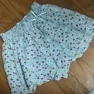 GU - GU 花柄キュロットスカート 130cm