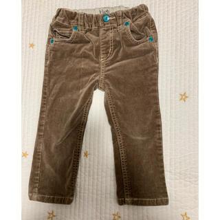 コーデュロイ茶色 長ズボンサイズ90(パンツ/スパッツ)