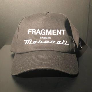 フラグメント(FRAGMENT)のFragment Design×Maserati キャップ(キャップ)