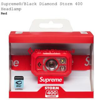 シュプリーム(Supreme)のsupreme Black Diamond Storm 400 Headlamp(ライト/ランタン)