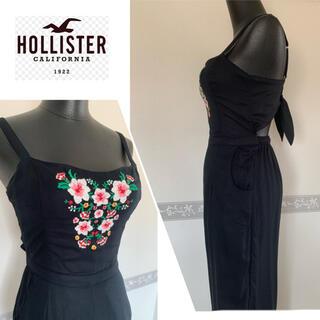 ホリスター(Hollister)の《新品未使用》Hollister  刺繍ポイントオールインワン(オールインワン)