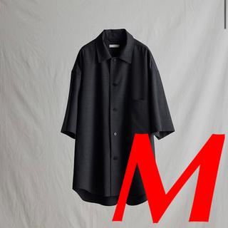 ステュディオス(STUDIOUS)のLIDNM MELANGE WOOL WIDE SHIRT(シャツ)