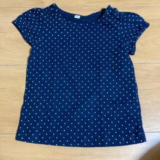 ムジルシリョウヒン(MUJI (無印良品))の【無印良品】キッズTシャツ80センチ(Tシャツ)