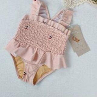 Caramel baby&child  - 新品 コンゲススロイド 水着 さくらんぼ フリル水着