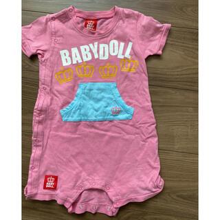 ベビードール(BABYDOLL)のBABY DOLL ロンパース ピンク(ロンパース)