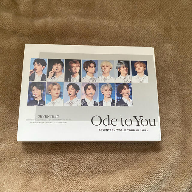 SEVENTEEN(セブンティーン)のode to you DVD seventeen  エンタメ/ホビーのCD(K-POP/アジア)の商品写真