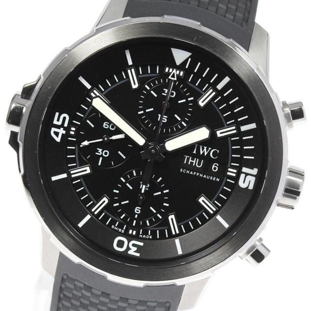 IWC(インターナショナルウォッチカンパニー)の☆良品 IWC アクアタイマー IW376803 メンズ 【中古】 メンズの時計(腕時計(アナログ))の商品写真