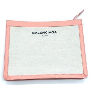 バレンシアガ(Balenciaga)のバレンシアガ 410119 クラシック クラッチバッグ キャンバス/レザー(クラッチバッグ)