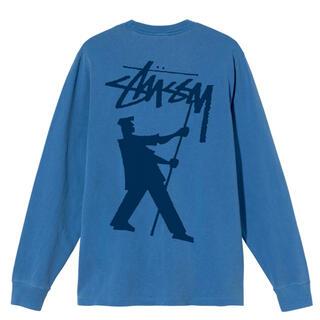 ステューシー(STUSSY)のSTUSSY  PAINTER PIG DYED LS TEE Mサイズ(Tシャツ/カットソー(七分/長袖))