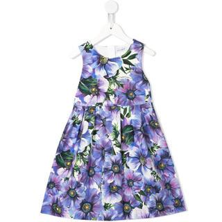 ドルチェアンドガッバーナ(DOLCE&GABBANA)のDolch&Gabbana Anemone print skater dress(ワンピース)