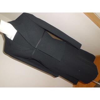 オールシーズン喪服★Sサイズ7AR7号ブラックフォーマル半袖ワンピース2030代(礼服/喪服)