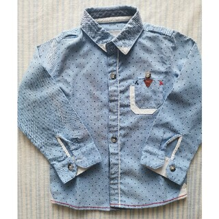 長袖シャツ (size 90)(Tシャツ/カットソー)