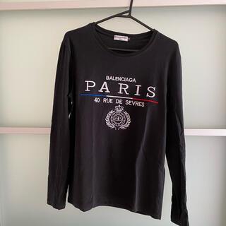 バレンシアガ(Balenciaga)のBALENCIAGA長袖シャツ(Tシャツ/カットソー(七分/長袖))