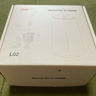 エーユー(au)のAu Speed Wi-Fi HOME L02 HWS33SWA ホワイト(その他)