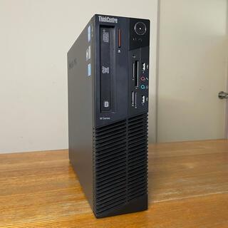 レノボ(Lenovo)のカスタムパソコン♪Core i7 メモリ8GB SSD120+HDD1TB(デスクトップ型PC)