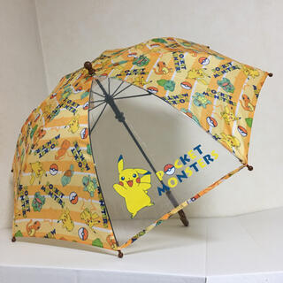 ポケモン(ポケモン)の即購入OK!新品タグ付き キッズ 傘 ポケモン ピカチュウ 45cm(傘)