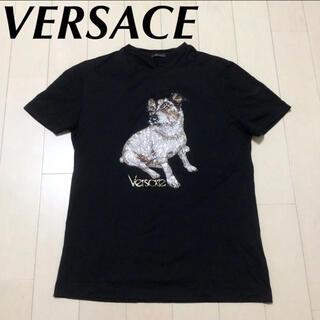 ヴェルサーチ(VERSACE)の本日価格☆正規品☆ VERSACE ラインストーンTシャツ(Tシャツ(半袖/袖なし))