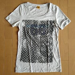 バックナンバー(BACK NUMBER)のビーズ刺繍 半袖Tシャツ BUCK NUMBER(Tシャツ(半袖/袖なし))