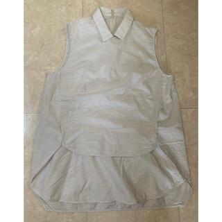 ルシェルブルー(LE CIEL BLEU)のノースリーブシャツ レディース(シャツ/ブラウス(半袖/袖なし))